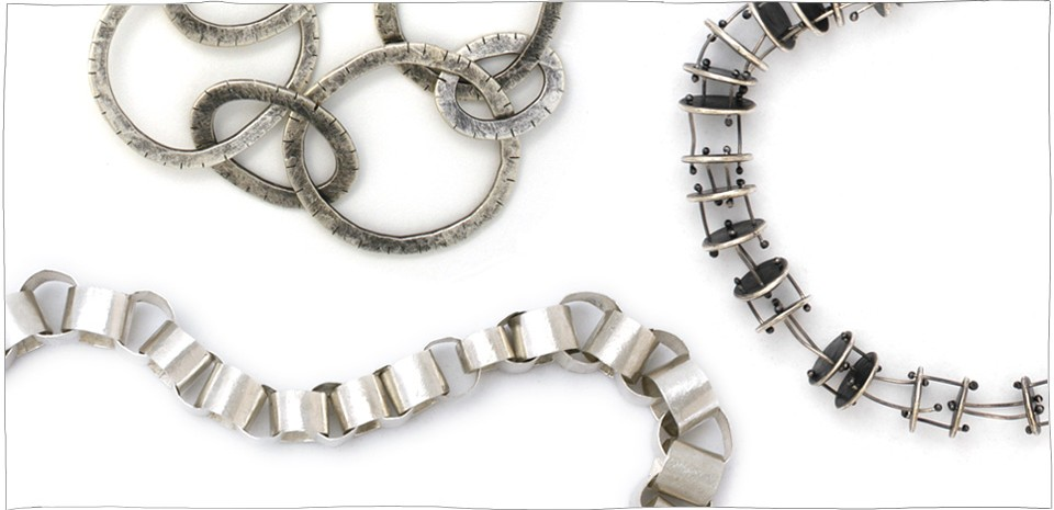 Handmade silver jewelry by Lisa Colby, metalsmith