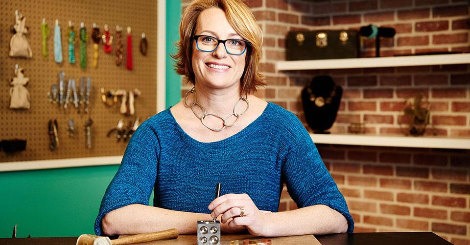 portrait of Lisa Colby metalsmith